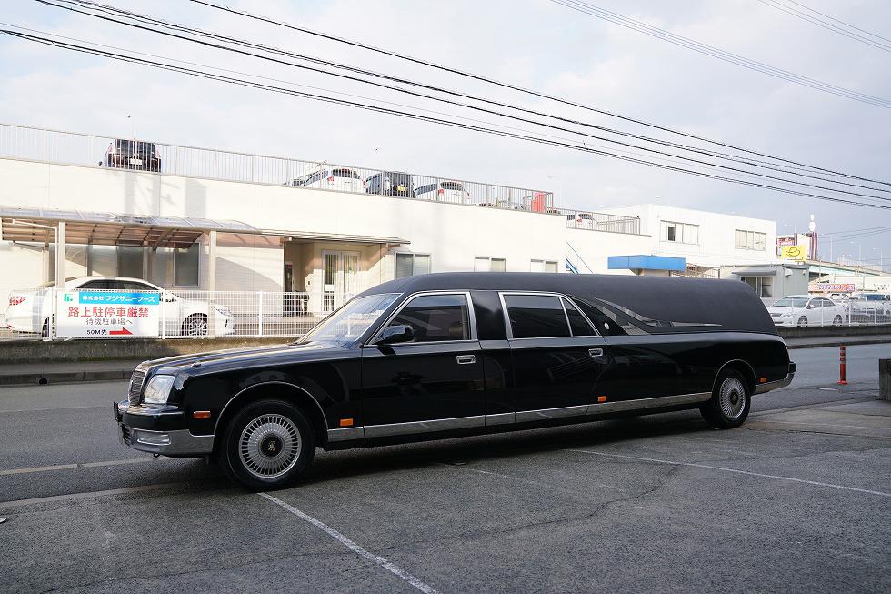【問合番号:18S-018】トヨタ センチュリー スーパーロングリムジン霊柩車