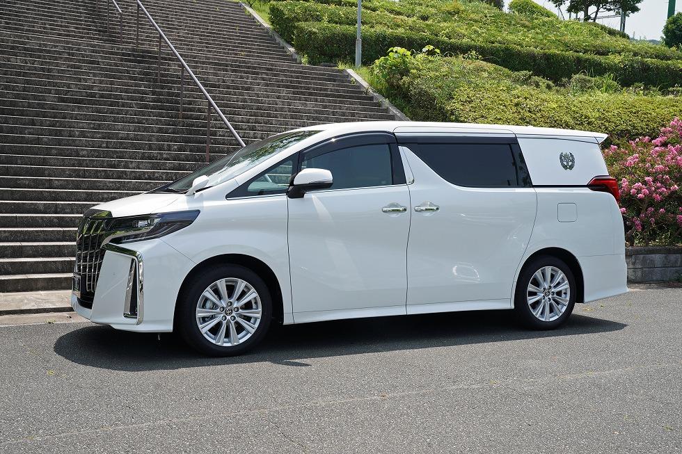 【問合番号:20S-039】トヨタ アルファード ロータスⅡ 特別バン型霊柩車