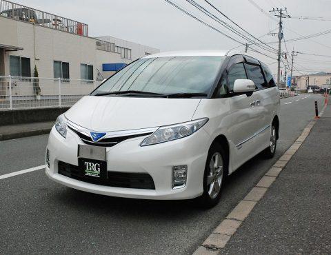 【問合番号:12S-032】トヨタ エスティマハイブリッド バン型霊柩車