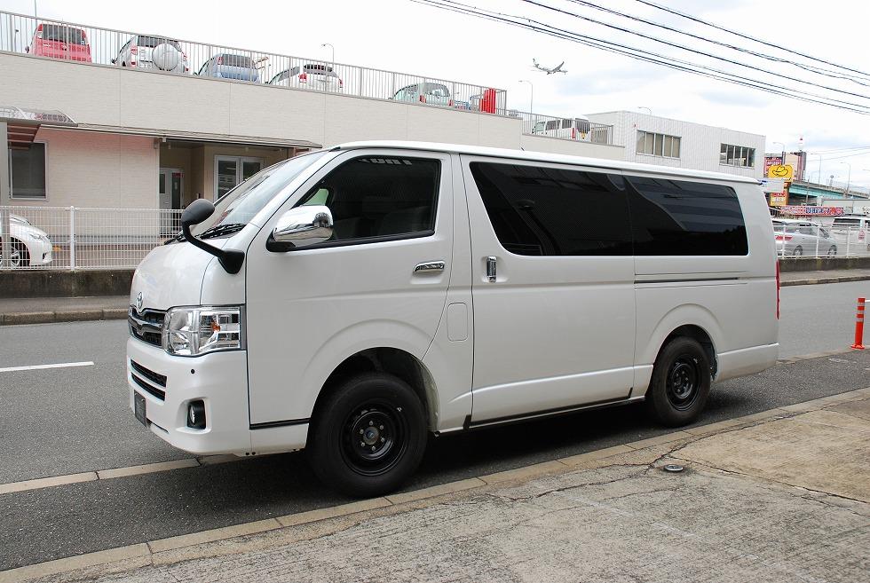 【問合番号:13S-052】トヨタ ハイエース ロングデッキ霊柩車