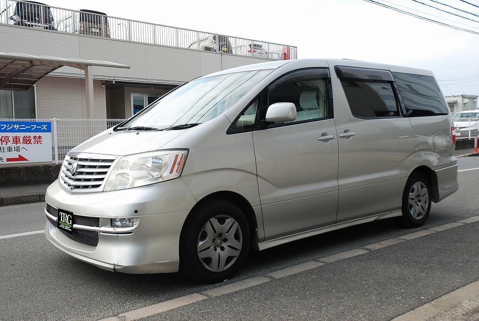【問合番号:22TA-002】トヨタ アルファード バン型霊柩車