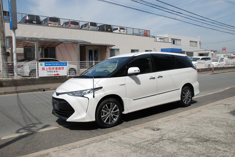 【問合番号:19S-018】トヨタ エスティマ バン型霊柩車