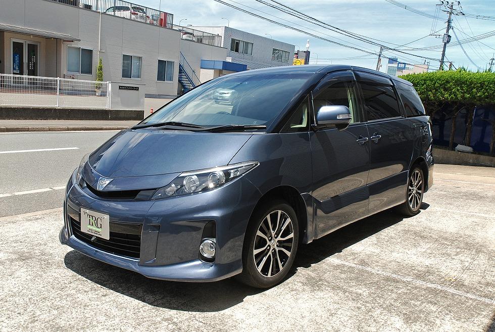【問合番号:22T-025】トヨタ エスティマ バン型霊柩車(サイドリフトアップシート装着車)