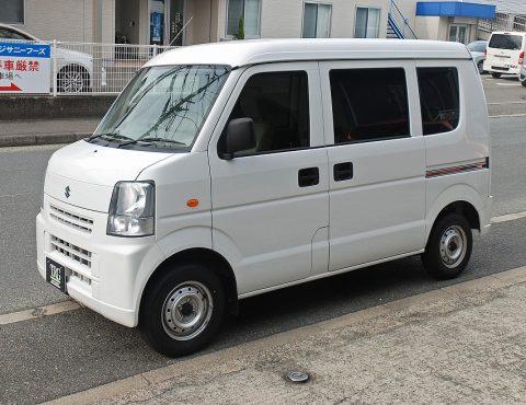 中古車ページ更新:新車【問合番号:22M-013】スズキ・エブリイ 4WD 軽霊柩車