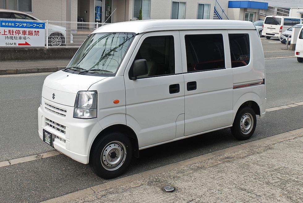 新車【問合番号:22S-048】スズキ・エブリイ 4WD 軽霊柩車